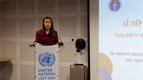 UNFPA tại Việt Nam cung cấp vật tư và thiết bị y tế phòng, chống COVID-19 - ảnh 1