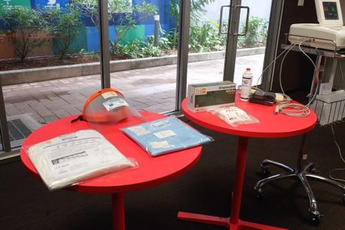 UNFPA tại Việt Nam cung cấp vật tư và thiết bị y tế phòng, chống COVID-19 - ảnh 4