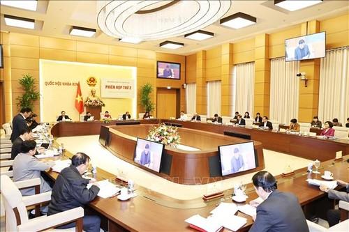 Chủ tịch Quốc hội Nguyễn Thị Kim Ngân chủ trì Phiên họp thứ hai của Hội đồng Bầu cử quốc gia - ảnh 2