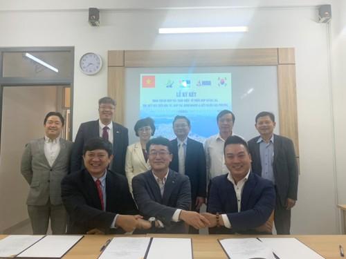 VKBIA ký kết hợp tác toàn diện với địa phương Yongsan (Hàn Quốc) - ảnh 1