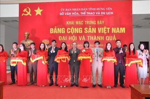 """Triển lãm """"Đảng Cộng sản Việt Nam - Đại hội và thành quả"""" - ảnh 1"""