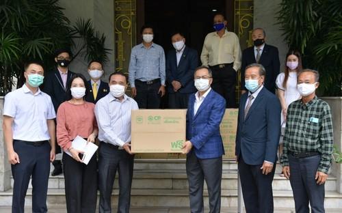 Đại sứ quán Việt Nam hỗ trợ cộng đồng người Việt tại Thái Lan phòng chống đại dịch COVID-19 - ảnh 1