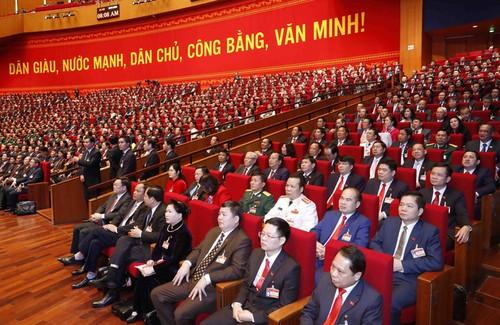 Ngày làm việc thứ 3 Đại hội đại biểu toàn quốc lần thứ XIII của Đảng Cộng sản Việt Nam - ảnh 1