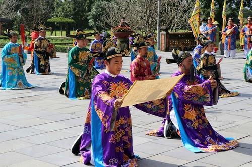 Thừa Thiên - Huế: Tái hiện sân khấu hóa lễ Nguyên đán thời Nguyễn - ảnh 1
