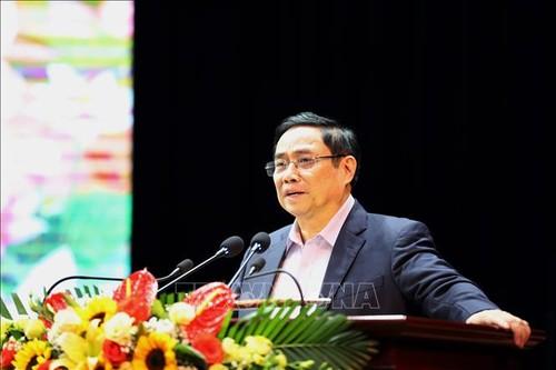 Trưởng Ban Tổ chức Trung ương Phạm Minh Chính thăm chúc tết tại Sơn La - ảnh 1