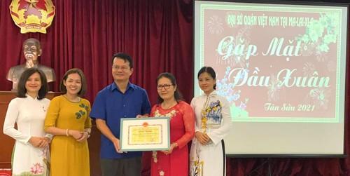 Kiều bào Malaysia gặp mặt đầu năm mừng xuân Tân Sửu - ảnh 1