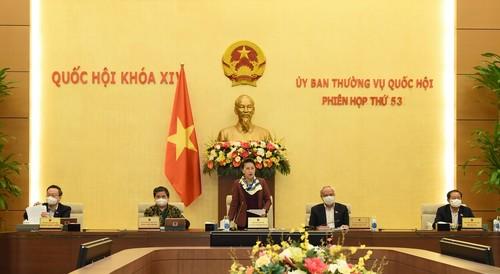 Ủy ban Thường vụ Quốc hội cho ý kiến Báo cáo công tác nhiệm kỳ của Chính phủ - ảnh 1