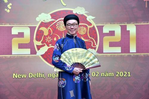 Đại sứ quán Việt Nam tại Ấn Độ  tổ chức gặp gỡ mừng Xuân Tân Sửu - ảnh 2