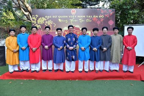 Đại sứ quán Việt Nam tại Ấn Độ  tổ chức gặp gỡ mừng Xuân Tân Sửu - ảnh 1