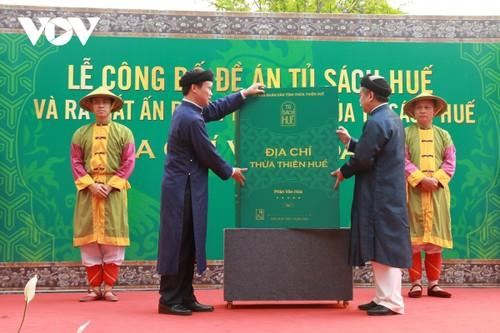Thừa Thiên Huế: Công bố đề án Tủ sách Huế - ảnh 1