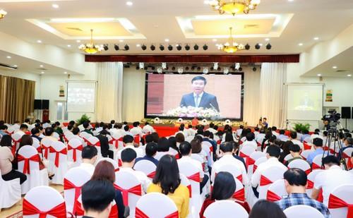 Hiệu quả từ việc áp dụng công nghệ trong triển khai Nghị quyết Đại hội Đảng lần thứ XIII - ảnh 1