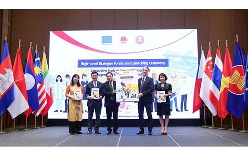 Ra mắt nghiên cứu so sánh về quản lý lao động di cư trong ASEAN - ảnh 1