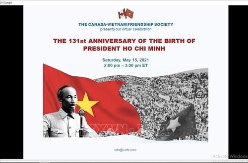 Hội thảo trực tuyến tại Canada về thân thế, sự nghiệp của Chủ tịch Hồ Chí Minh - ảnh 1