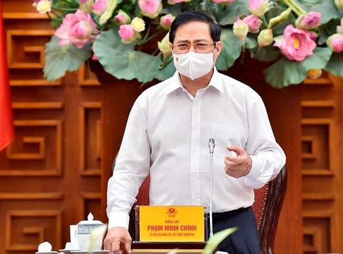 Thủ tướng Phạm Minh Chính: Phát triển kinh tế đi đôi với tiến bộ và công bằng xã hội - ảnh 1
