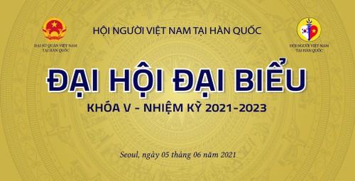 Hội Người Việt Nam tại Hàn Quốc tổ chức Đại hội Đại biểu lần thứ V, nhiệm kỳ 2021-2023 vào đầu tháng 6 tới - ảnh 1