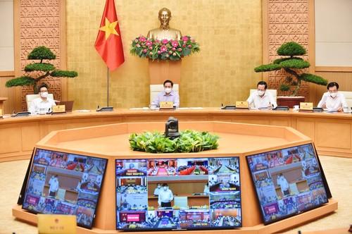 Thủ tướng Chính phủ chỉ đạo tổng tiến công toàn lực, thần tốc để chặn đứng dịch COVID-19 - ảnh 1