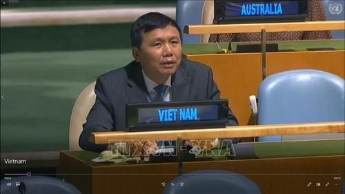 Việt Nam cam kết thúc đẩy vai trò của Hiến chương Liên hợp quốc và luật pháp quốc tế - ảnh 1