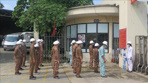 Lào Cai diễn tập phòng, chống dịch COVID-19 trong khu công nghiệp - ảnh 1