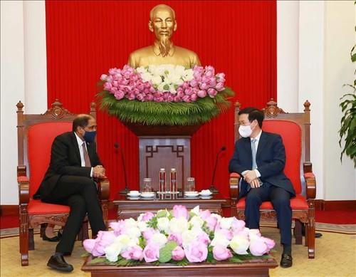 Thúc đẩy các biện pháp tăng cường quan hệ Việt Nam - Singapore - ảnh 1