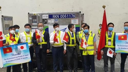 Nhật Bản viện trợ thêm 1 triệu liều vaccine AstraZeneca cho Việt Nam - ảnh 1