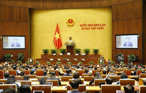 Quốc hội khóa XV khai mạc kỳ họp đầu tiên - ảnh 1
