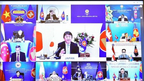 Nhật Bản khẳng định ủng hộ lập trường của ASEAN về Biển Đông - ảnh 1
