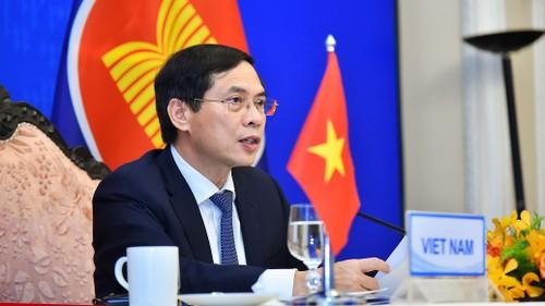 Hội nghị Bộ trưởng Ngoại giao ASEAN+3 bàn tăng cường hợp tác, chống COVID-19 - ảnh 1