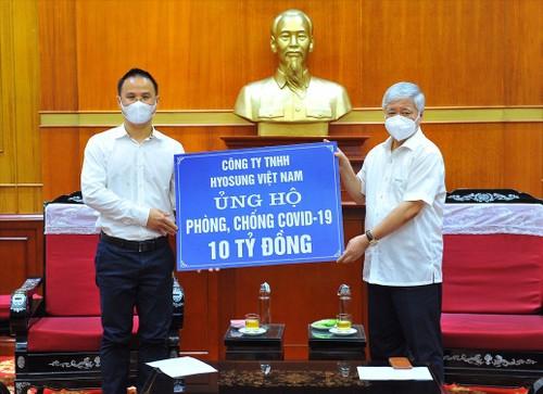 Ủy ban Trung ương Mặt trận Tổ quốc Việt Nam hỗ trợ 1,7 triệu suất ăn cho các tỉnh, thành phố phía Nam - ảnh 1