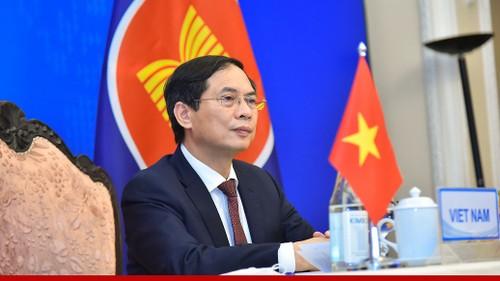 ASEAN-Trung Quốc khẳng định duy trì môi trường hoà bình, an ninh, ổn định - ảnh 1