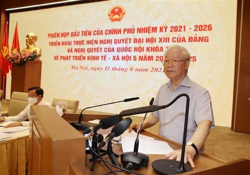 Tất cả vì mục tiêu chung là xây dựng nước Việt Nam dân giàu, nước mạnh - ảnh 1
