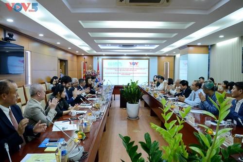 VOV pledges to deliver UN messages to Vietnamese people - ảnh 2
