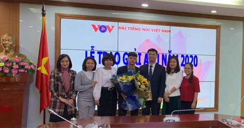 ABU Prize 2020 Award Ceremony: VOV receives Commendation Prize - ảnh 2