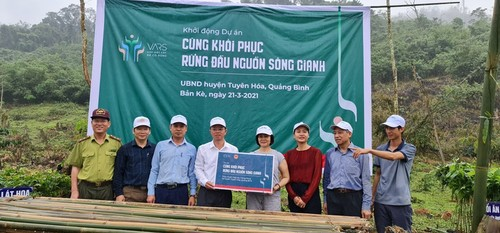 Quang Binh province restores upstream forest of Gianh river - ảnh 1