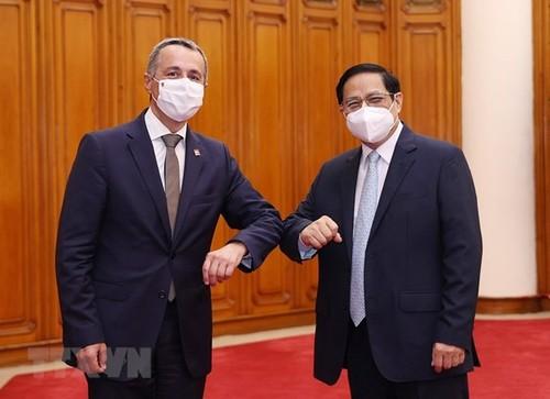Vietnam, Switzerland aim for stronger ties - ảnh 1