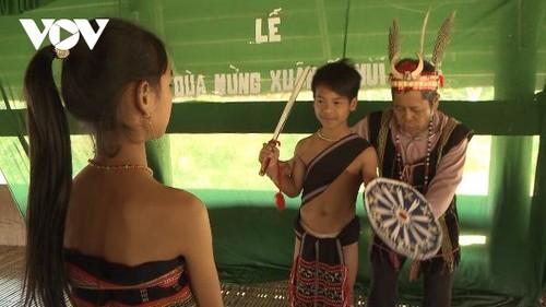 Village elders promote Co Tu ethnic culture  - ảnh 1
