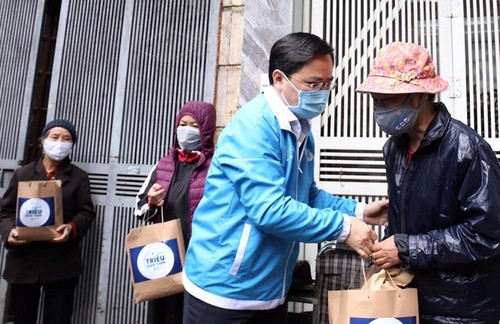"""""""Millions of meals"""" campaign shows Vietnamese youth's devotion to charity - ảnh 1"""