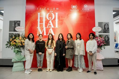 Hippocampus exhibition creates steppingstone for young talents  - ảnh 1