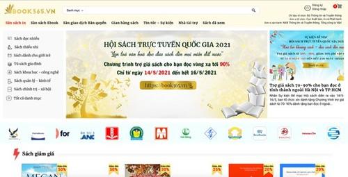 Book365.vn  promotes reading culture in digital era - ảnh 1