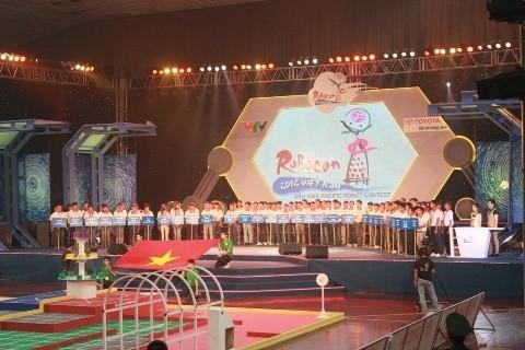 Vietnam gana el segundo premio del concurso Robocon de Asia- Pacífico - ảnh 1