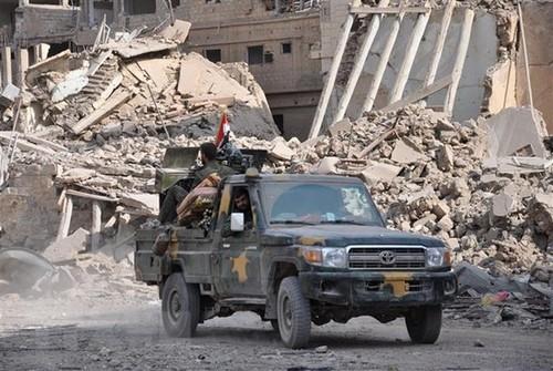 Fuerzas respaldadas por Estados Unidos atacan el este de Siria - ảnh 1