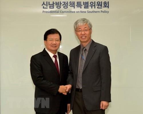 Vietnam busca impulsar relaciones con Corea del Sur - ảnh 1
