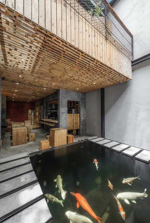 Koi Café, una combinación de cafetería y spa en Hanói - ảnh 2