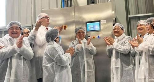 Inauguran fábrica de procesamiento de frutas frescas en Son La - ảnh 1