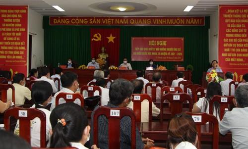 El jefe del Ejecutivo se reúne con electores de la ciudad de Can Tho - ảnh 2
