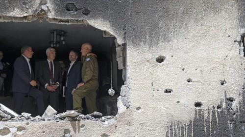Conflicto israelí-palestino: Israel acuerda un alto el fuego con Hamás - ảnh 1