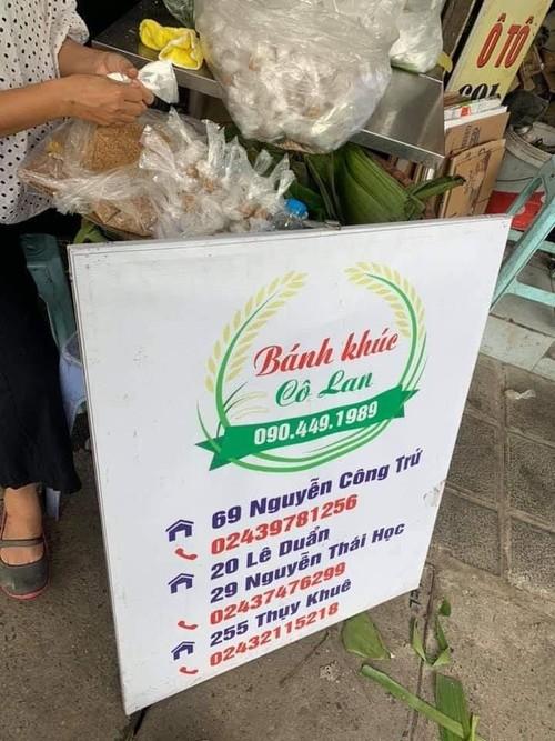 """Banh khuc"", plato familiar de los hanoyenses - ảnh 1"