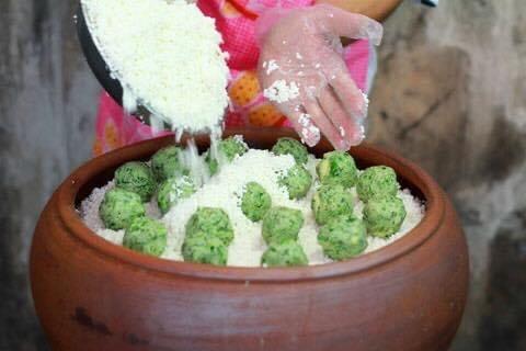 """Banh khuc"", plato familiar de los hanoyenses - ảnh 2"