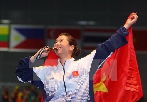 Vietnam's best wushu taolu artists and preparations for SEA Games - ảnh 3