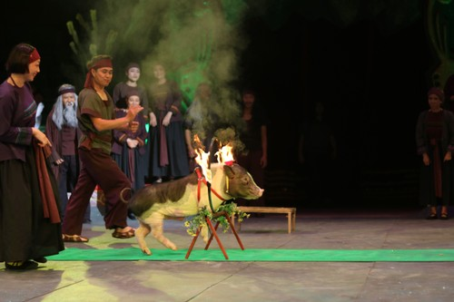 """""""The Magic Stick"""" - first-ever combination of circus and traditional music - ảnh 5"""