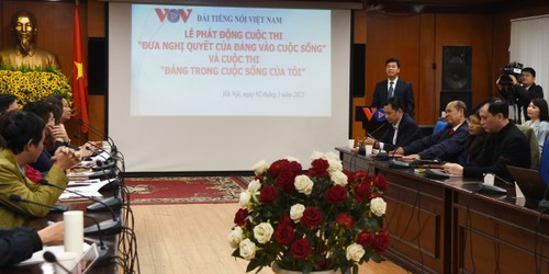 VOV launches contest on bringing the Party resolution to life - ảnh 1